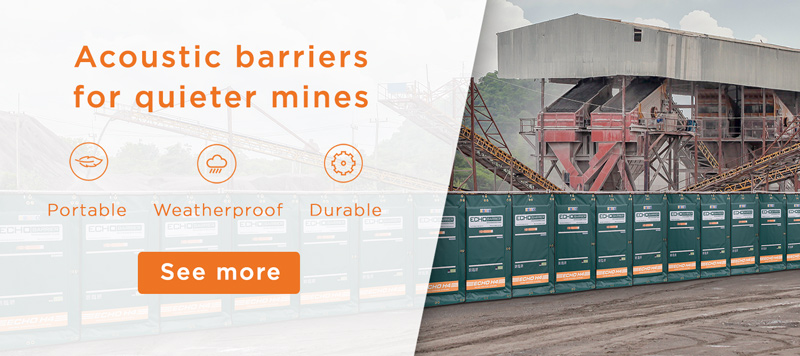 Echo Barriers for mines
